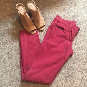 NWOT LOFT Modern Skinny Jeans Size 28/6